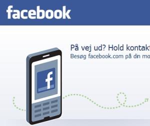 Screenshot fra Facebook