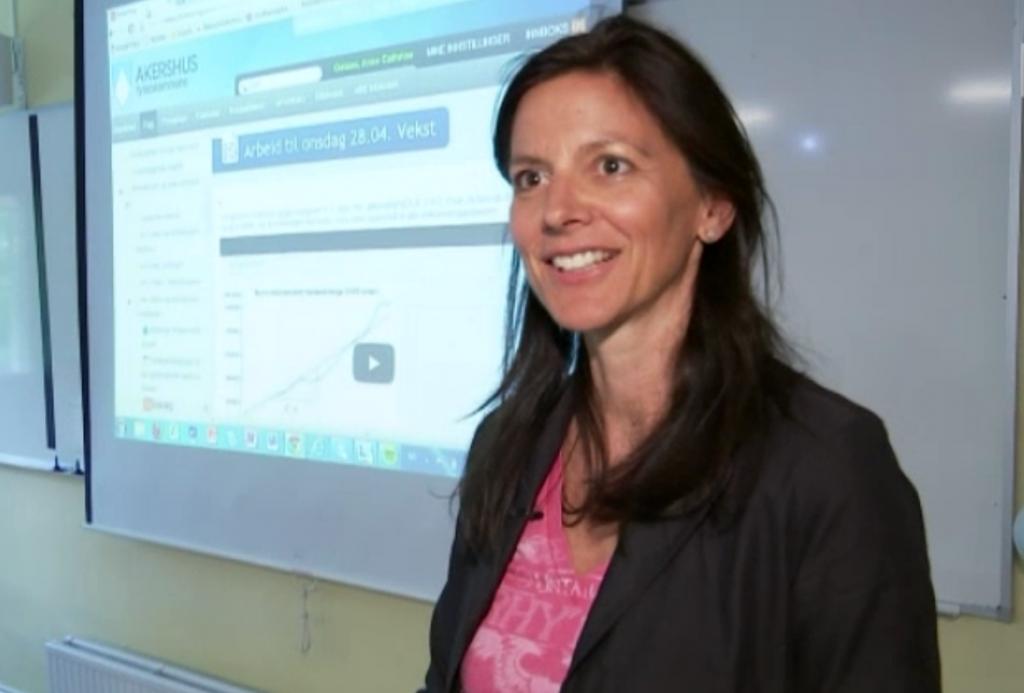 Anne Cathrine Gotaas, matematiklærer på Sandvika vgs