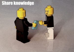 Share knowledge - Foto af Ewa Rozkosz, CC-licens. http://www.flickr.com/photos/erozkosz/